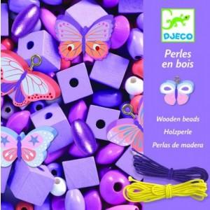 DJECO - zestaw do tworzenia biżuterii - Motylki (Z2839)