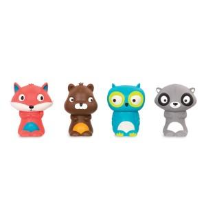 B.Toys - pacynki na palce - Zwierzaki z lasu (Z2854)