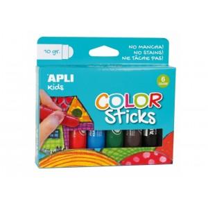 Apli Kids - Farby w kredce 6 szt. (Z2879)