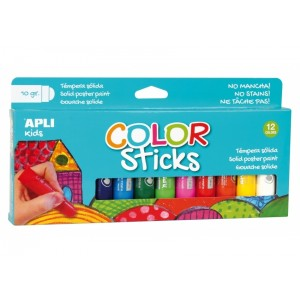 Apli Kids - Farby w kredce 12 kolorów (Z2880)