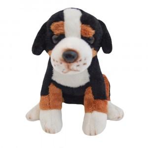 BEPEE - Pies pasterski siedzący Tricolor 20 cm (Z2918)