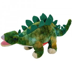 BEPEE - Dinozaur Stegozaur ciemny zielony 30 cm (Z2925)