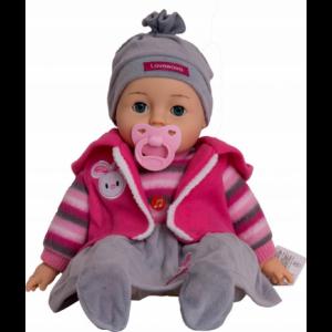 Lalka Bobas - mówi, śpiewa i zamyka oczy (Z2939)