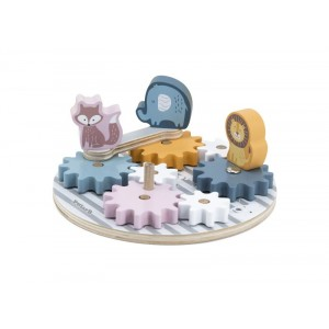 Viga - Polar B - układanka koła zębate ze zwierzątkami (Z2948)