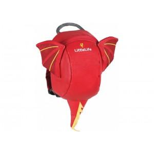Plecak LittleLife z odpinaną smyczą 1-3 lata - Smok (Z2964)