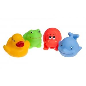 Tullo - zabawki do kąpieli - 4szt - Zwierzątka (Z2994)