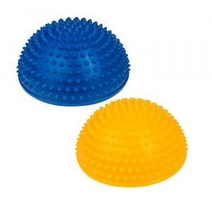 Tullo - półkule sensoryczne do masażu - niebieska i żółta (Z2999)