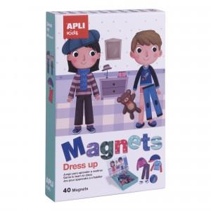 APLI Kids - magnetyczna układanka - Ubieranki (Z3000)