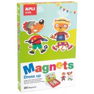 APLI Kids - magnetyczna układanka - Postacie (Z3002)
