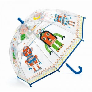Djeco - parasol przeciwdeszczowy - Roboty (Z3003)