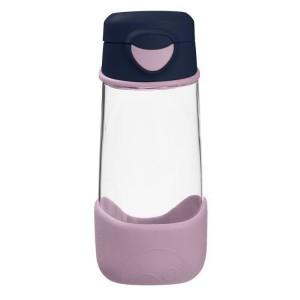 B.Box - sportowa butelka tritanowa 450ml - Indigo Rose - granatowo-różowa (Z3004)