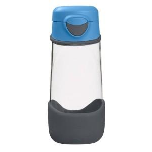 B.Box - sportowa butelka tritanowa 450ml - Blue Slate - szaro-nibieska (Z3005)