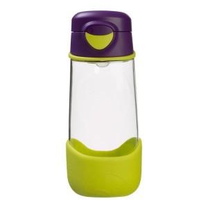 B.Box - sportowa butelka tritanowa 450ml - Passion Splash - zielono-fioletowa (Z3006)