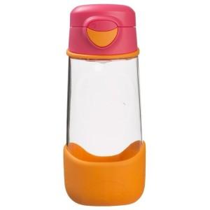 B.Box - sportowa butelka tritanowa 450ml - Strawberry Shake- pomarańczowo-różowa (Z3007)