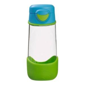 B.Box - sportowa butelka tritanowa 450ml - Ocean Breeze - niebiesko-zielony (Z3008)