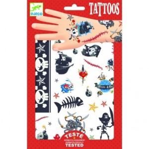 Djeco - tatuaże dla dzieci - Piraci (Z3017)