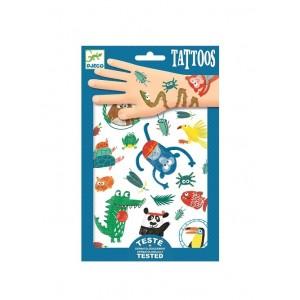 Djeco - tatuaże dla dzieci Zwierzaczki (Z3018)