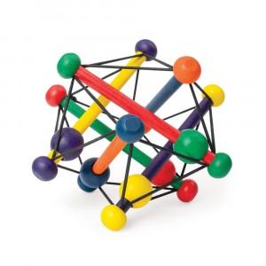 Manhattan Toy - Drewniana elastyczna bryła - kolorowa (Z3025)