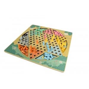 AdamToys - dwustronna gra logiczna- Halama i Węże i drabiny (Z3042)