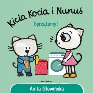 Kicia Kocia i Nunuś - Sprzątamy (Z3047)