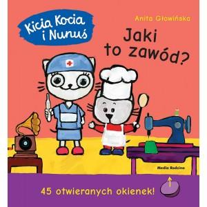 Kicia Kocia i Nunuś - Jaki to zawód? z okienkami (Z3048)
