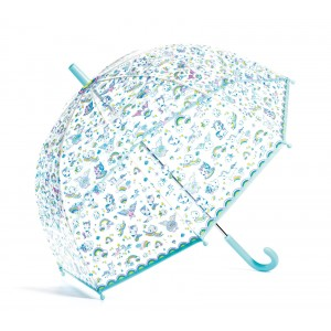 Djeco - parasol przeciwdeszczowy - Jednorożce (Z3057)