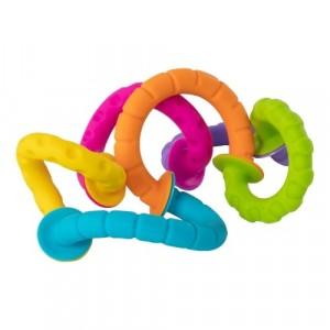 Fat Brain Toys - Bobo Przyssawki Kółeczka - PipSquigz Ringlets (Z3060)
