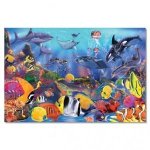 Melissa&Doug - puzzle podłogowe - Podwodny świat 48 el. (Z3097)