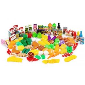 Zestaw warzyw, owoców i innych artykułów 120szt. (Z3102)