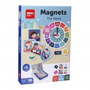 APLI Kids - magnetyczna układanka - Godziny (Z3112)