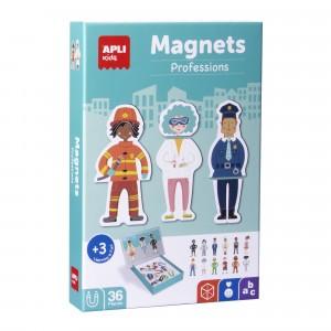 APLI Kids - magnetyczna układanka - Zawody (Z3113)