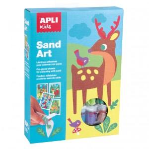 APLI Kids - zestaw artystyczny z piaskiem (Z3114)