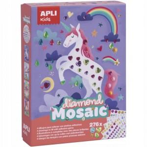 APLI Kids - zestaw artystyczny - Diamentowa mozaika (Z3115)
