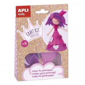 APLI Kids - zestaw artystyczny - Różowa Księżniczka (Z3117)