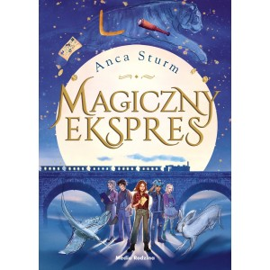 Magiczny ekspres - Anca Sutrm - Wyd. Media Rodzina (Z3140)