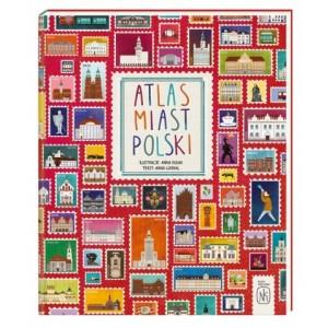 Atlas Miast Polski - Anna Garbal Wyd. Nasza Księgarnia (Z3149)