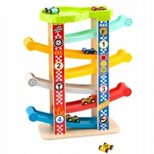 Tooky Toy - zjeżdżalnia/tor z autkami (Z3164)