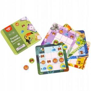 Tooky Toy - Gra magnetyczna Sudoku Las (Z3171)