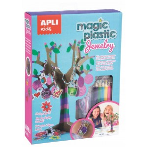 APLI Kids - Zestaw z magicznym plastikiem - Biżuteria (Z3183)
