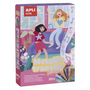 APLI Kids - zestaw kalkomanii z folią (Z3184)