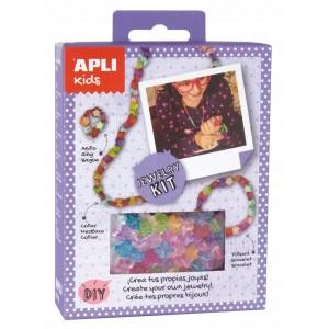 APLI Kids - zestaw do tworzenia biżuterii - koraliki (Z3185)