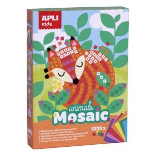 APLI Kids - zestaw artystyczny - Mozaika Zwierzęta (Z3200)