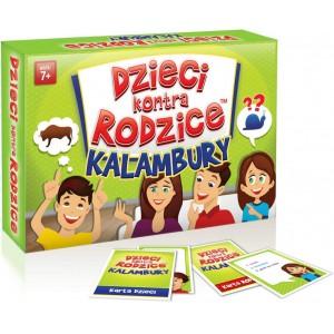 Kangur - Gra - Dzieci kontra rodzice - Kalambury (Z3220)