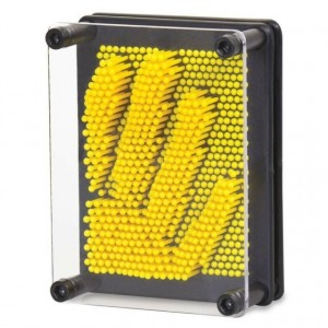 Tobar - Mini Pin Art - Mini tablica szpilkowa - Żółta (Z3223)
