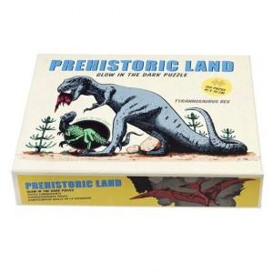 Rex London - puzzle świecące w ciemności 100 el. - Dinozaury (Z3269)