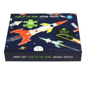Rex London - puzzle świecące w ciemności 100 el. - Kosmos (Z3268)