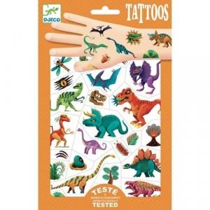 Djeco - tatuaże dla dzieci - Klub Dino - Dinozaury (Z3300)