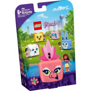 LEGO Friends - Kostka Olivii z flamingiem - 41662 (Z3343)