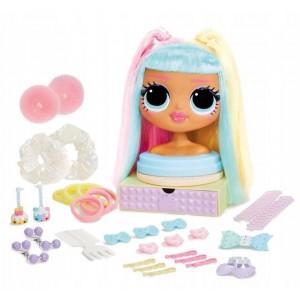 L.O.L Surprise OMG - Głowa do stylizacji - Candylicious - 572008 (Z3348)