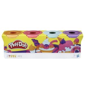 Play-doh Tuba 4-pak Słodkie kolory (Z3359)